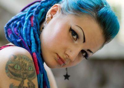 Katze Tattoo Frau