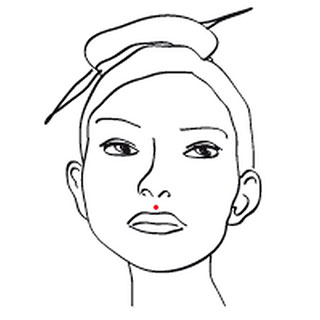 Piercing Oberlippe